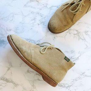 BASS byron desert boots suede